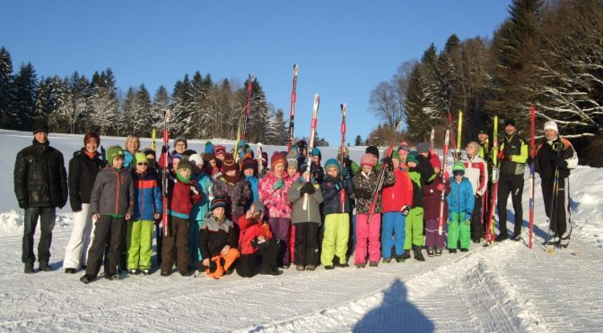 Skilanglauf-Tage bei Kaiserwetter